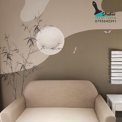 Vẽ Tranh Tường Homestay Chuchu - studiotranhtuong.com
