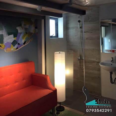 Vẽ Tranh Tường HOMESTAY QUẬN 3-studiotranhtuong.com