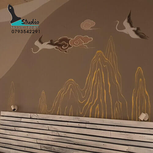 Vẽ Tranh Tường căn hộ tiện ích- studiotranhtuong.com