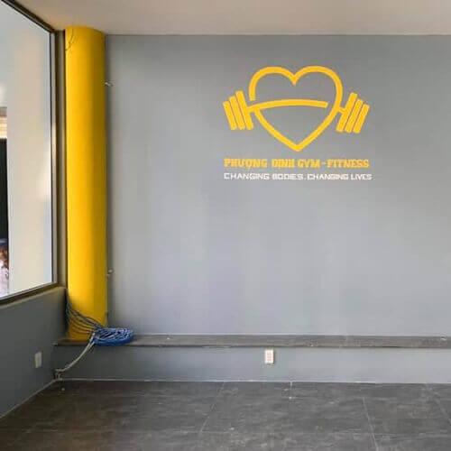 Vẽ Tranh Tường phòng tập thể dục - studiotranhtuong.com