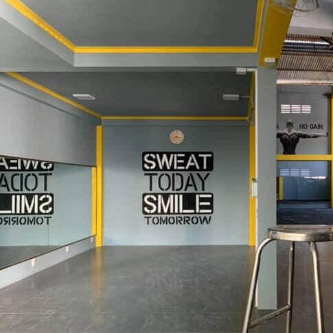 Vẽ Tranh Tường Phòng Gym - Karaoke - Bar - Quán Net - Phòng Tập Thể Dục uy tín, chất lượng