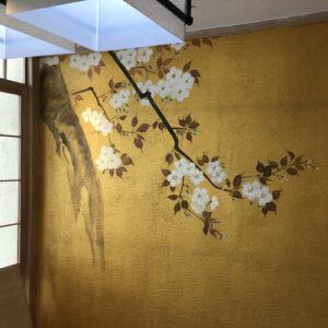 Vẽ Tranh Tường nhà hàng Nhật chuyên nghiệp