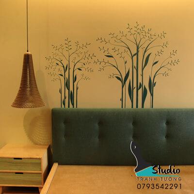 vẽ tranh tường căn hộ quận 1