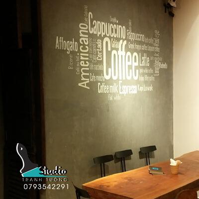 Vẽ Tranh Tường quán cafe Thảo điền quận 2