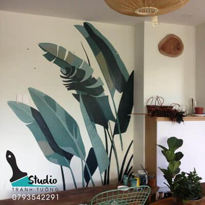 Vẽ Tranh Tường Khách Sạn - Homestay - Resort uy tín, chuyên nghiệp