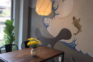Vẽ Tranh Tường Khách Sạn Homestay Resort