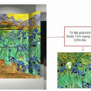 Vẽ Photobooth Sự kiện ra mắt giới thiệu TV Samsung QLED Q68R