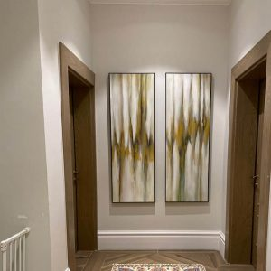 Vẽ Tranh Sơn Dầu trang trí phòng ngủ phòng khách phòng ăn bếp nội thất