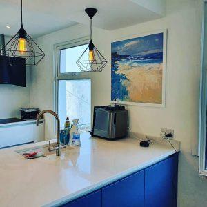 Vẽ Tranh Sơn Dầu trang trí nội thất nhà bếp