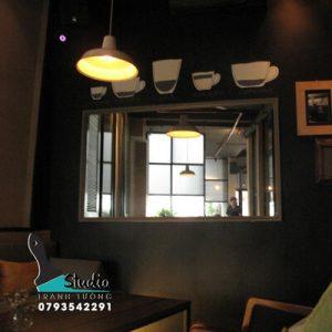 Vẽ Tranh Tường quán cà phê ấn tượng ID cafe